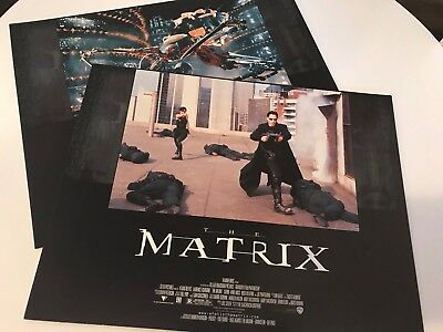 The Matrix movie lobby cards (set of 8) New! Keanu Reeves