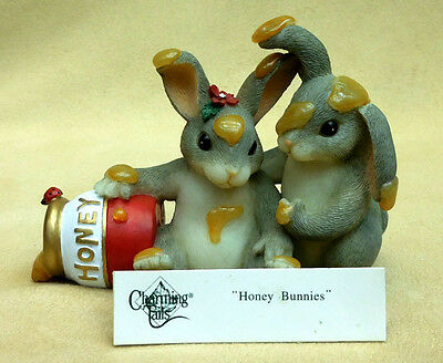 "Charming Tails, Fitz And Floyd, ""honey Bunnies"" Item 84/112"
