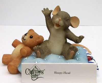 "Charming Tails, Fitz And Floyd,""sleepy Head"" Item 89/113"