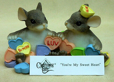 "Charming Tails, Fitz And Floyd, ""you're My Sweetheart"" Item 84/116"