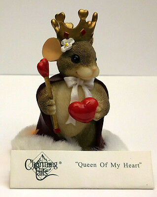 "Charming Tails, Fitz And Floyd, ""queen Of My Heart"" Item 84/114"
