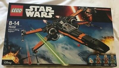 LEGO 75102 Star Wars Poe's X-Wing Starfighter - Brand New Sealed