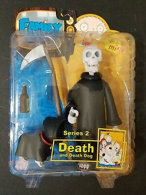 Family Guy Death Action Figure Skull Variant Series 2 Mezco Toy *NEW