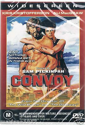 Convoy - kris Kristofferson DVD New AND SEALED