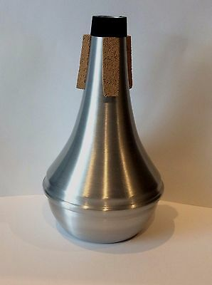 Trumpet or Cornet Mute, Aluminium body with brushed finish...Brand New