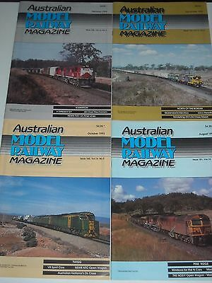 AUSTRALIAN MODEL RAILWAY MAGAZINE 11 Issues 1993-1994