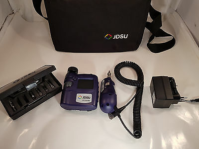 JDSU Westover HD3 FBP Fiber Scope Inspection System Microscope  gebrauht tested!