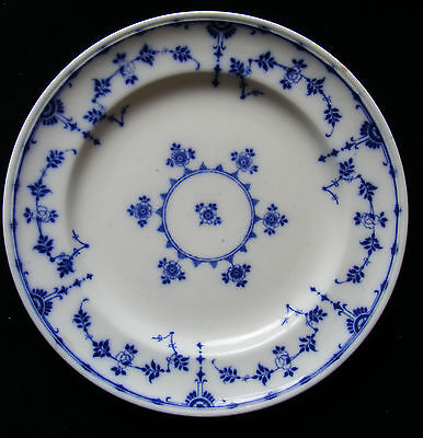 """Blue and White Mintons Danish 10.5"""" Plate - Please See Photos"""