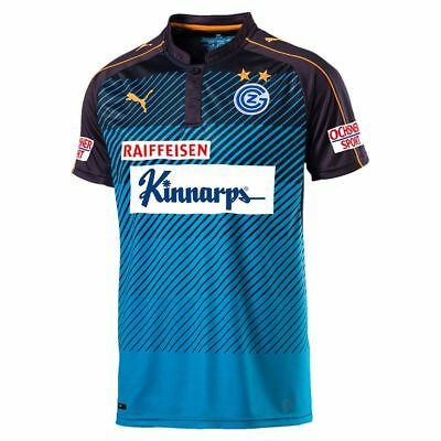 Puma Mens Grasshopper Club Zürich FC Football Third 3rd Jersey Shirt 2016 2017