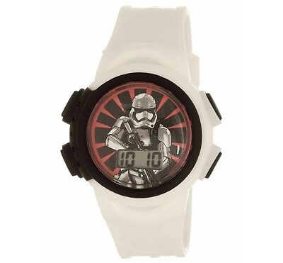 Star Wars Episode 7 Lcd Watch (White Band)