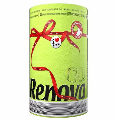 Renova 2 Ply Paper Green Cleaning Design Kitchen Towel