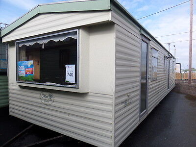 Sited Cheap Static Caravan For Sale Including 2017 Site Fees North Wales