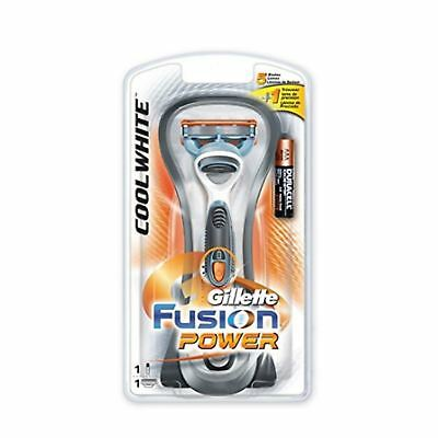 Gillette Fusion Power Cool White Razor 1 Blade