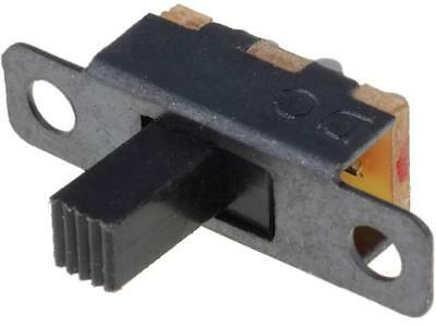 5x S1501 Switch slide 2-position SPDT 0.5A/24VDC ON-ON No.of term3