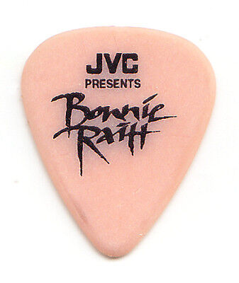 Bonnie Raitt Signature Orange JVC Guitar Pick - 1990s Tours