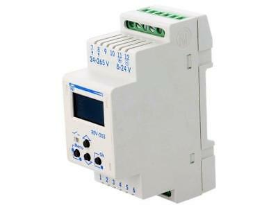 REV-303 Programmable time switch Range1 year SPDT 24÷265VAC 8÷24VDC