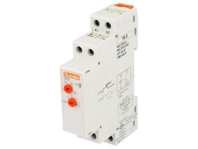 TMD Timer 18s÷180s SPDT 250VAC/5A 24÷240VAC 24÷240VDC DIN LOVATO ELECTRIC