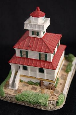 NEW CANAL LOUISIANA #148 RETIRED HARBOUR LIGHTS LIGHTHOUSE   Bill Younger