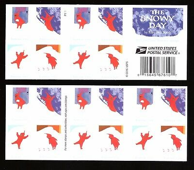 "US - Booklet of 20 - ""2017"" The Snowy Day - Forever Stamps - MNH"