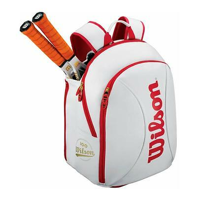 Wilson 100 Year S Tennis Bag - Fits up to 2 rackets & Accessories - RRP: £50