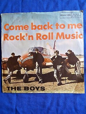 "The Boys-Come Back To Me Single 7"" Germany 1965"