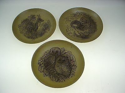 Poole Pottery Plate Barbra Linley Adams Poole Animal Plates 3