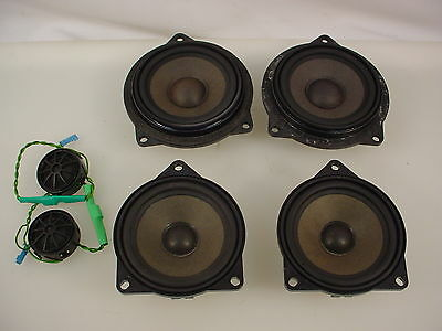 2007 BMW REAR DECK SPEAKERS MID RANGE SPEAKERS PLUS TWEETERS OEM 328i E90