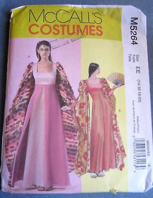 Empire Line Renaissance Uncut McCalls Pattern from 2006 Sizes 14 to 20