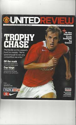 Manchester United v Middlesbrough FA Cup 2004/05 Football Programme