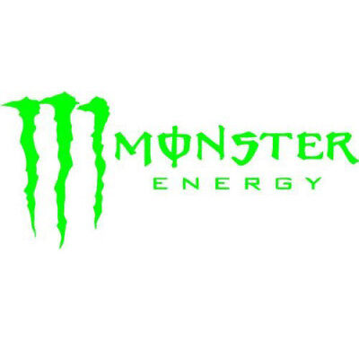 MONSTER ENERGY STICKER DECAL CLAW 150 X 50mm SKATEBOARD SCOOTER CAR VAN