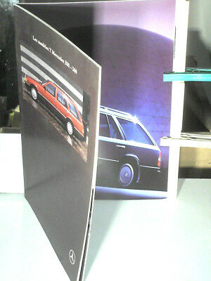 BEAU CATALOGUE MERCEDES BREAK  TD 250/ TD 300/ TD 300 TURBO/ 1991, french edit.