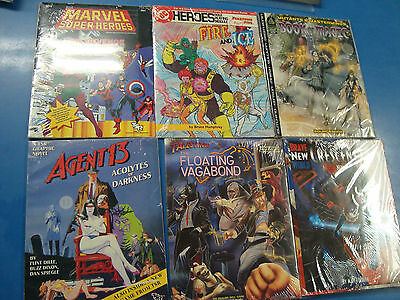 RPG Lot Collection Heroes Agent 13 Mutants Masterminds Brave New World DC etc.