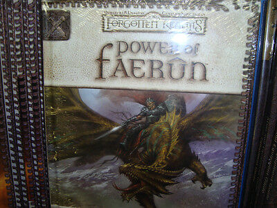 POWER OF FAERUN New Unused Dungeons and Dragons GAME 3.5 Book
