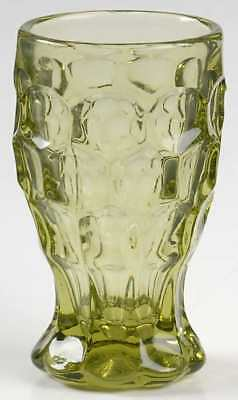Imperial Glass Ohio PROVINCIAL GREEN 5 Oz Tumbler 4570958