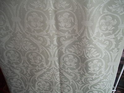 Lovely Pale Green Curtain Fabric - 6 Mtrs