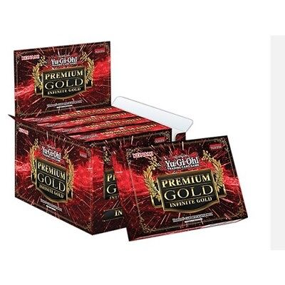 Yu-Gi-Oh! Premium Gold 3 Booster Display Box (Pack of 5). Delivery is Free