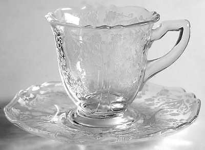 Cambridge DIANE CLEAR (STEM 3122) Demitasse Cup & Saucer 7137547