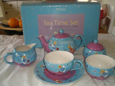 Whittard Of Chelsea - Cool Yule Fairy Shimmer Sparkle Tea Time Set  From 2002