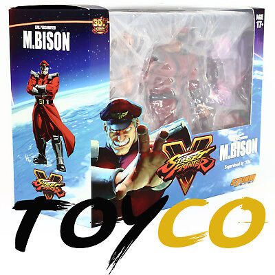 "New Storm Collectibles M. Bison Street Fighter V Premium Action Figure 7"" 1/12"