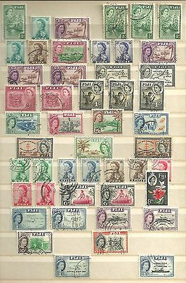Fiji stamps..QEII...Mint and Used.
