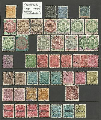 British South Africa Company (Rhodesia) stamps.
