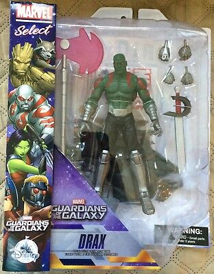 MARVEL SELECT GUARDIANS OF THE GALAXY DRAX ACTION FIGURE Disney Store