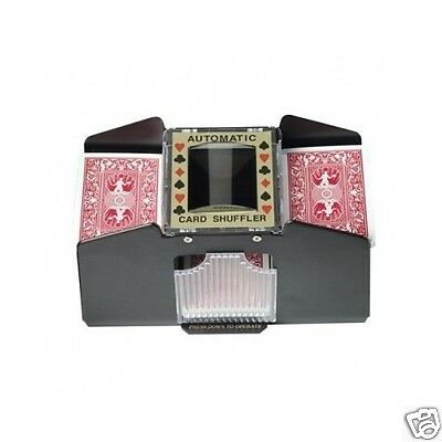 Card Shuffler 4 Deck Auto Poker Battery Operated Shuffle Machine Free Shipping