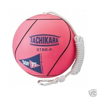 Tetherball Extra Soft Fluorescent Pink Outdoor Sports Ball Game Free Shipping