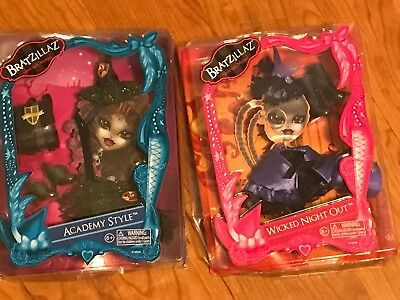 New Bratzilla Lot Of 2 Outfits Clothes Wicked Night Out & Academy Style NIP