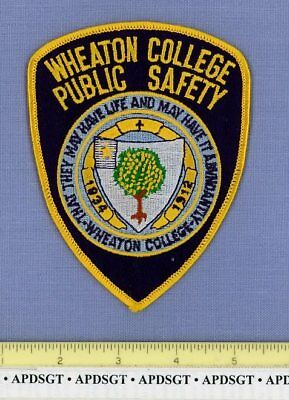 WHEATON COLLEGE DPS ILLINOIS IL Sheriff School University Campus Police Patch