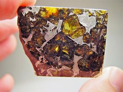 Museum Quality! Large Gorgeous Crystals! Stable! Amazing Admire Meteorite 24 Gms