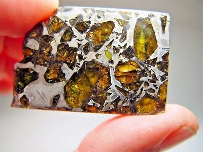 Museum Quality! Large Gorgeous Crystals! Stable! Amazing Admire Meteorite 32 Gms