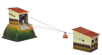 Tomytec Mountain Cableway Set 1/150 N scale