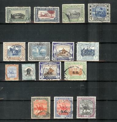 Sudan   Old   Stamp   Selection
